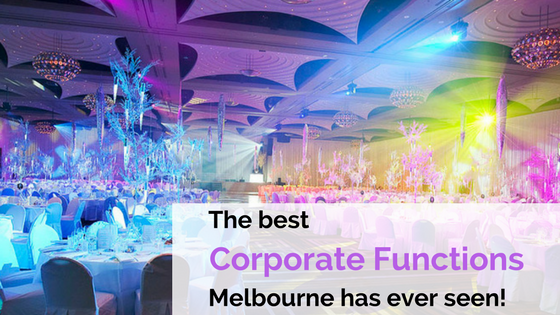 Corporate functions Melbourne at Crown Palladium